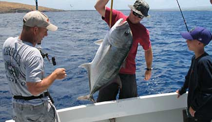 Maui fishing charters maui deep sea fishing maui sport for Maui sport fishing